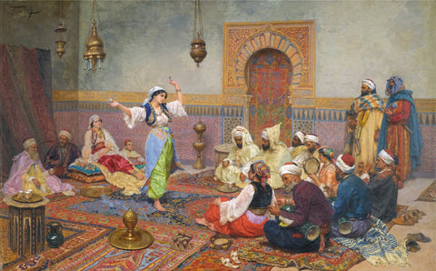 Middle Eastern Dance by Tallenge Store