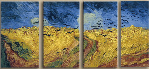 Wheatfield with Crows - Art Panels
