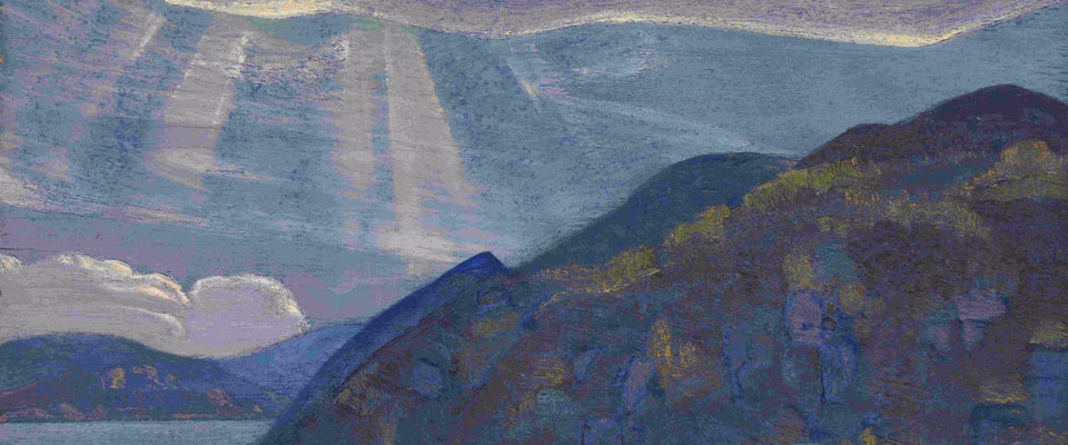 Rocks and Cliffs by Nicholas Roerich | Buy Posters, Frames, Canvas  & Digital Art Prints