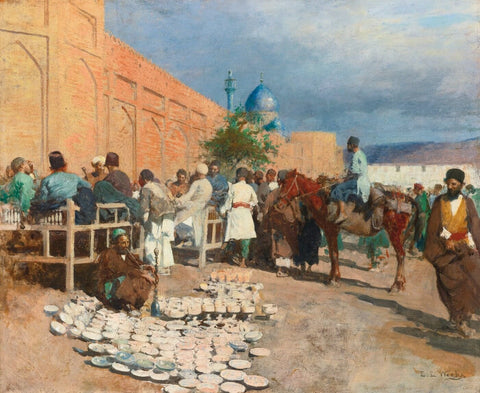 Persian Cafe — The Pottery Seller