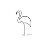Pablo Picasso - Le Flammand Rose - Flamingo - Canvas Prints