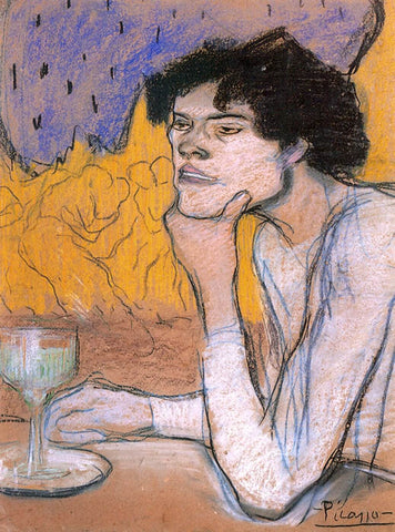 Pablo Picasso - Buveur dAbsinthe - Absinthe Drinker