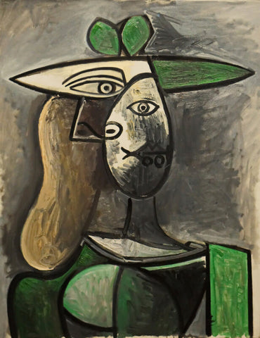 Woman In A Green Hat, 1947