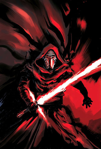 Painting - Kylo Ren - Star Wars The Force Awakens - Hollywood Collection