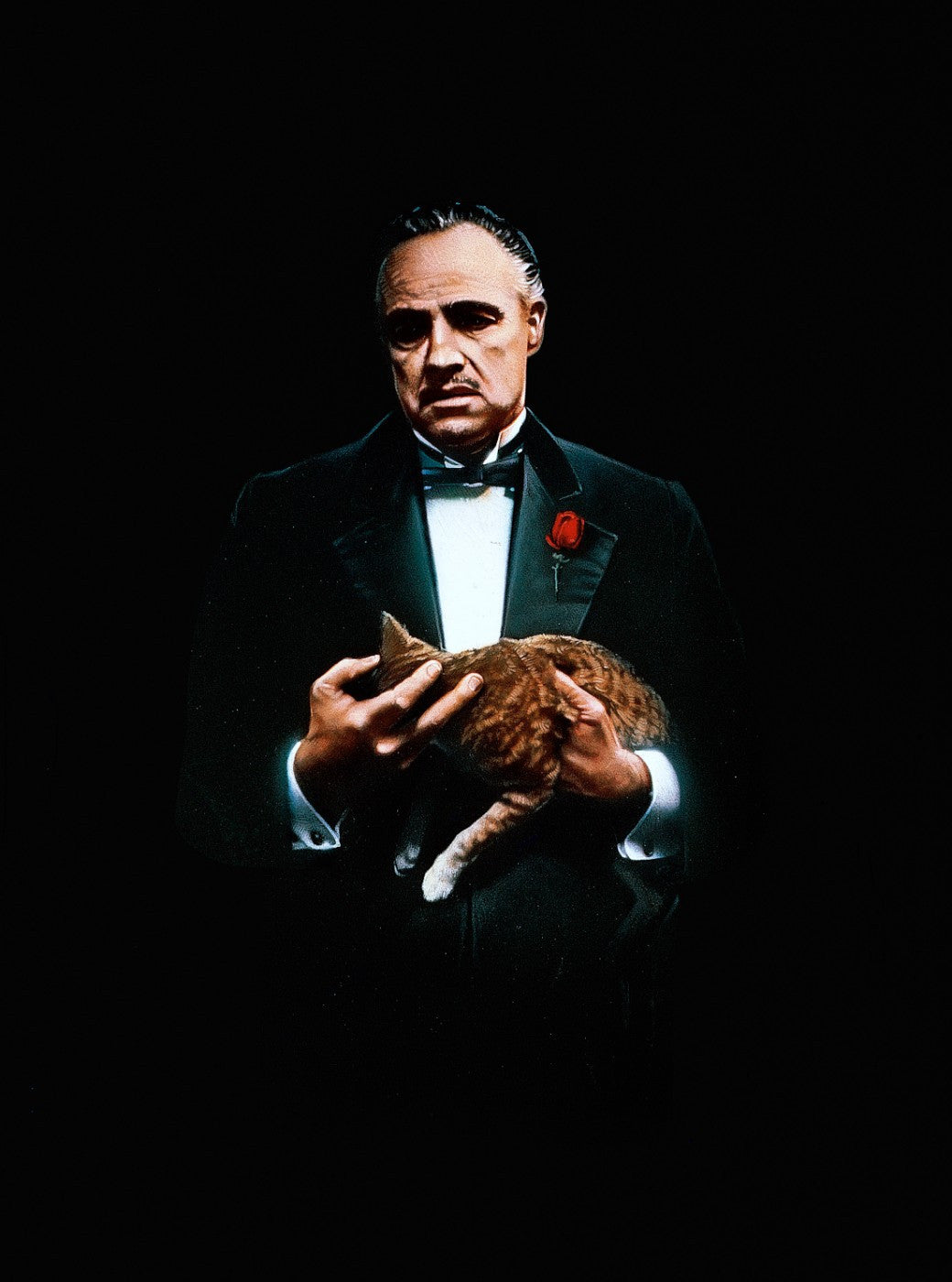 Painting - Marlon Brando As Don Corleone In The Godfather - Hollywood Collection - Large Art Prints
