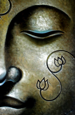 Painting - Peaceful Buddha