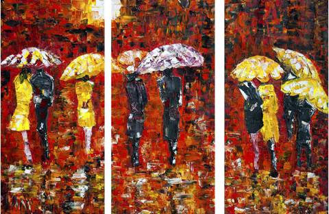 Painting - Umbrellas - Art Panels