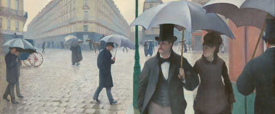 Paris Street in Rainy Weather by Gustave Caillebotte | Buy Posters, Frames, Canvas  & Digital Art Prints