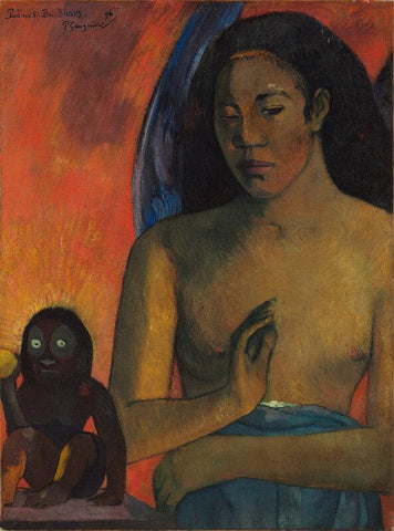 Untitled-(Nude Woman With Monkey)