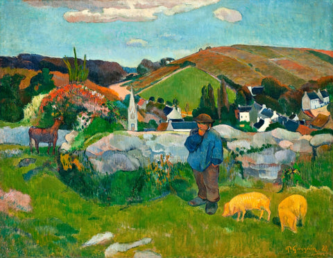 The Swineherd, Brittany