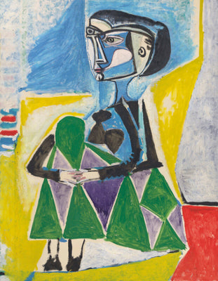 Femme Accroupie (Jacqueline) by Pablo Picasso | Buy Posters, Frames, Canvas  & Digital Art Prints