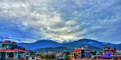 Picturesque Pokhara City Nepal