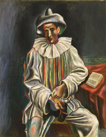 Pierrot by Pablo Picasso