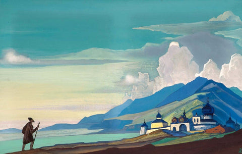 Pilgrim of the Radiant City (1933) - Nicholas Roerich by Nicholas Roerich
