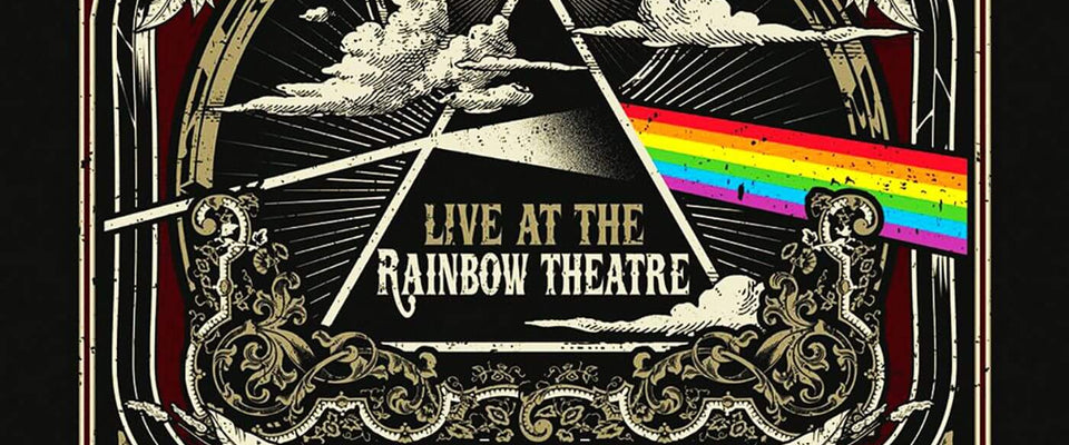 Pink Floyd - Dark Side Of the Moon 1972 Concert at the Rainbow Theatre - Live Concert Poster by William | Buy Posters, Frames, Canvas  & Digital Art Prints
