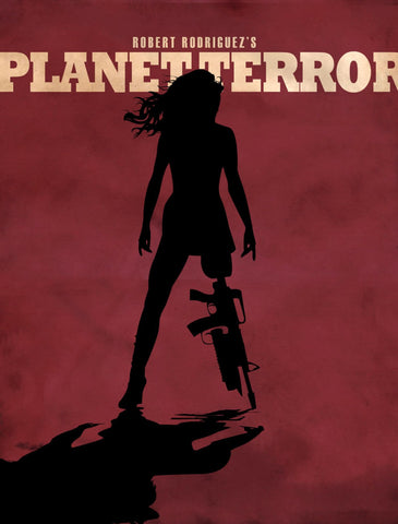 Planet Terror - Robert Rodriguez Hollywood Movie Poster