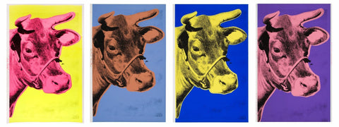Pop Art - Andy Warhol - Cow
