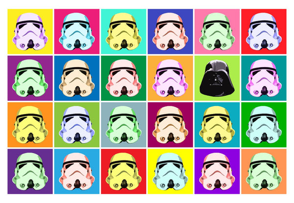 Pop Art - Star Wars Stormtroopers - Hollywood Collection - Framed Prints