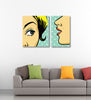 Telling Secrets Pop Art - Art Panels