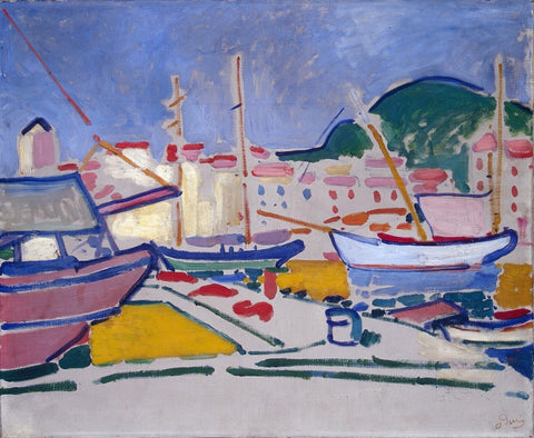 Port by Andre Derain