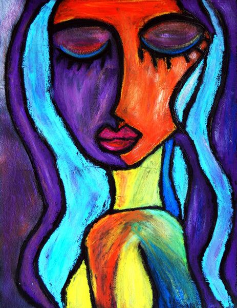 Portrait Of A Young Woman - Large Art Prints