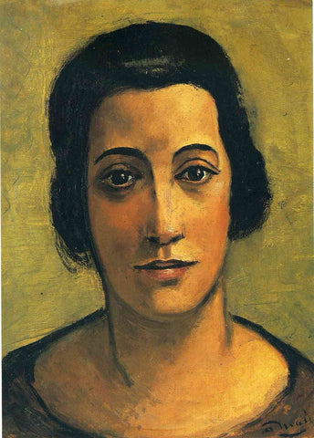 Portrait Of Madame Carco by Andre Derain