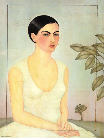 Portrait Of Cristina - My Sister (Retrato de Cristina Mi Hermana) by Frida Kahlo