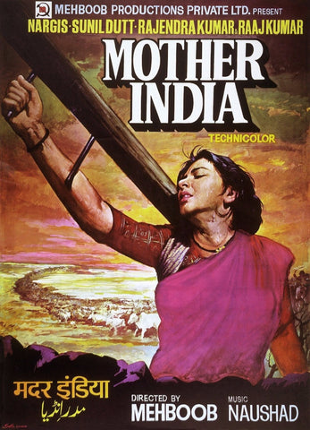 Poster - Mother India - Bollywood Collection