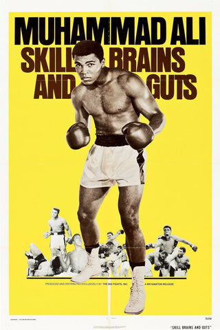 Poster - Muhammad Ali - Skill Brains And Guts
