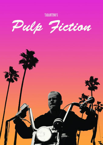 Pulp Fiction - Bruce Willis As Butch  - Tallenge Quentin Tarantino Hollywood Movie Poster Collection