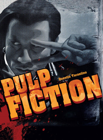 Pulp Fiction - John Travolta Vincent Vega - Tallenge Quentin Tarantino Hollywood Movie Art Poster Collection