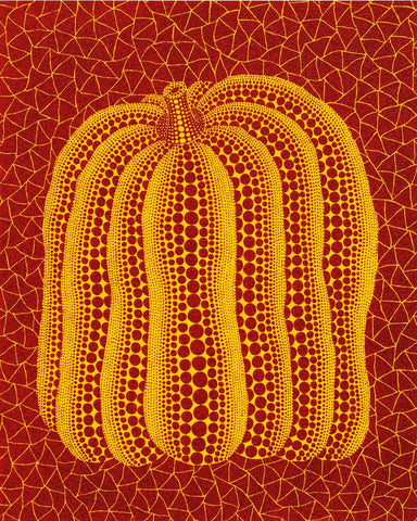 Pumpkin - Red and Yellow - Yayoi Kusama by Kusama