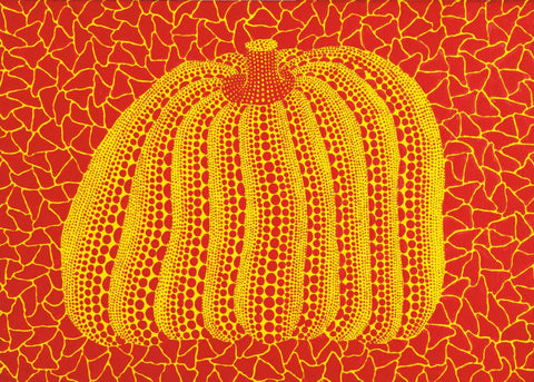 Pumpkin - Yellow and Red - Yayoi Kusama by Kusama