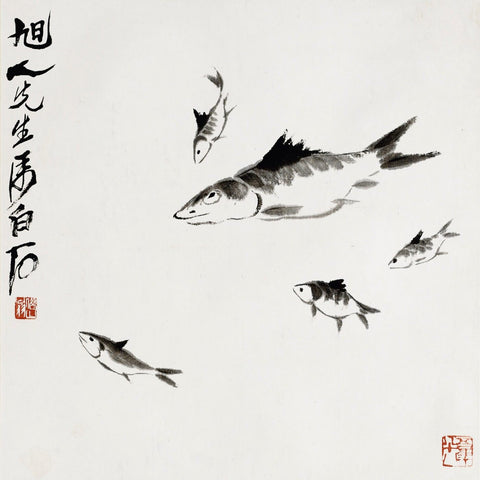 Five Fish - Qi Baishi