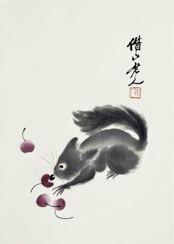 Squirrel - Qi Baishi