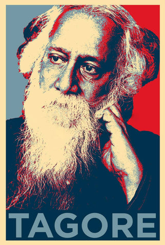 Rabindranath Tagore - Pop Art