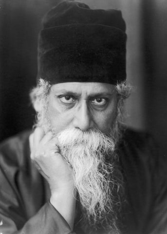 Rabindranath Tagore Vintage Photograph Picture