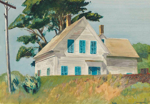 Edward Hopper - Railroad  Embankment by Edward Hopper