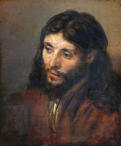 Rembrandt  - Head Of Christ (Christuskop)