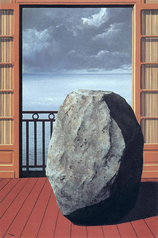Invisible World (Le Monde Invisible ) - Rene Magritte