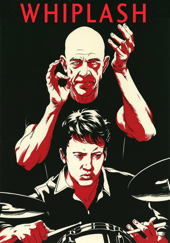 Retro Art Poster - Whiplash - Hollywood Collection