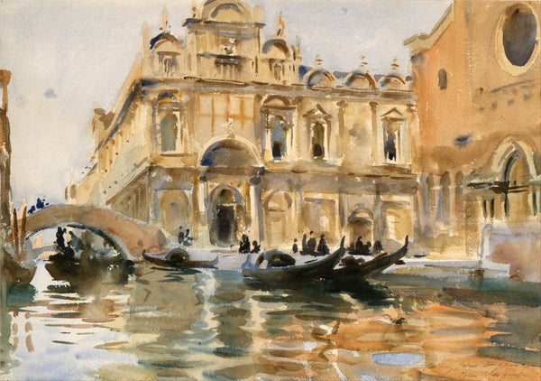 Rio Dei Mendicanti, Venice - Canvas Prints