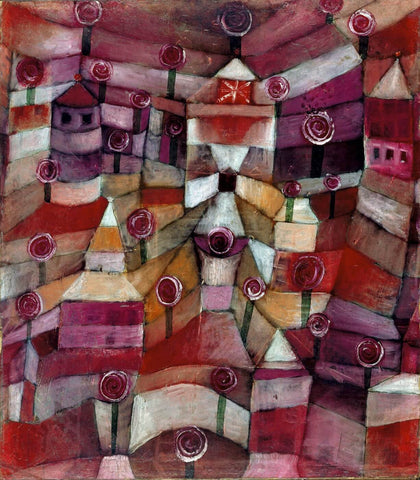 Rose Garden by Paul Klee
