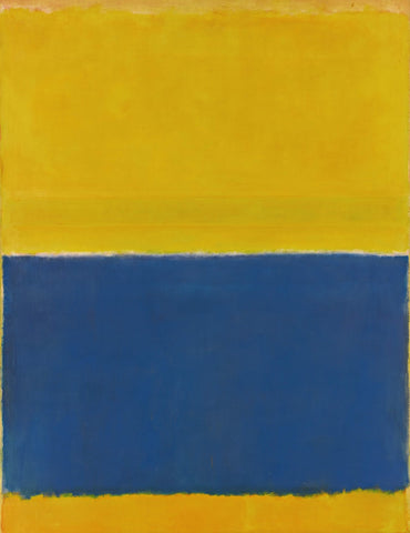 Yellow and Blue by Mark Rothko