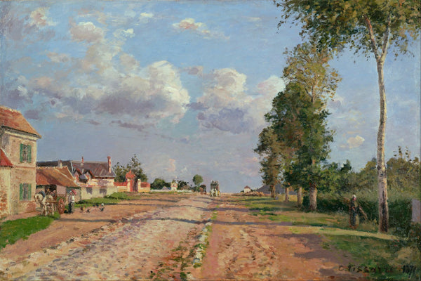 Route de Versailles, Rocquencourt - Art Prints