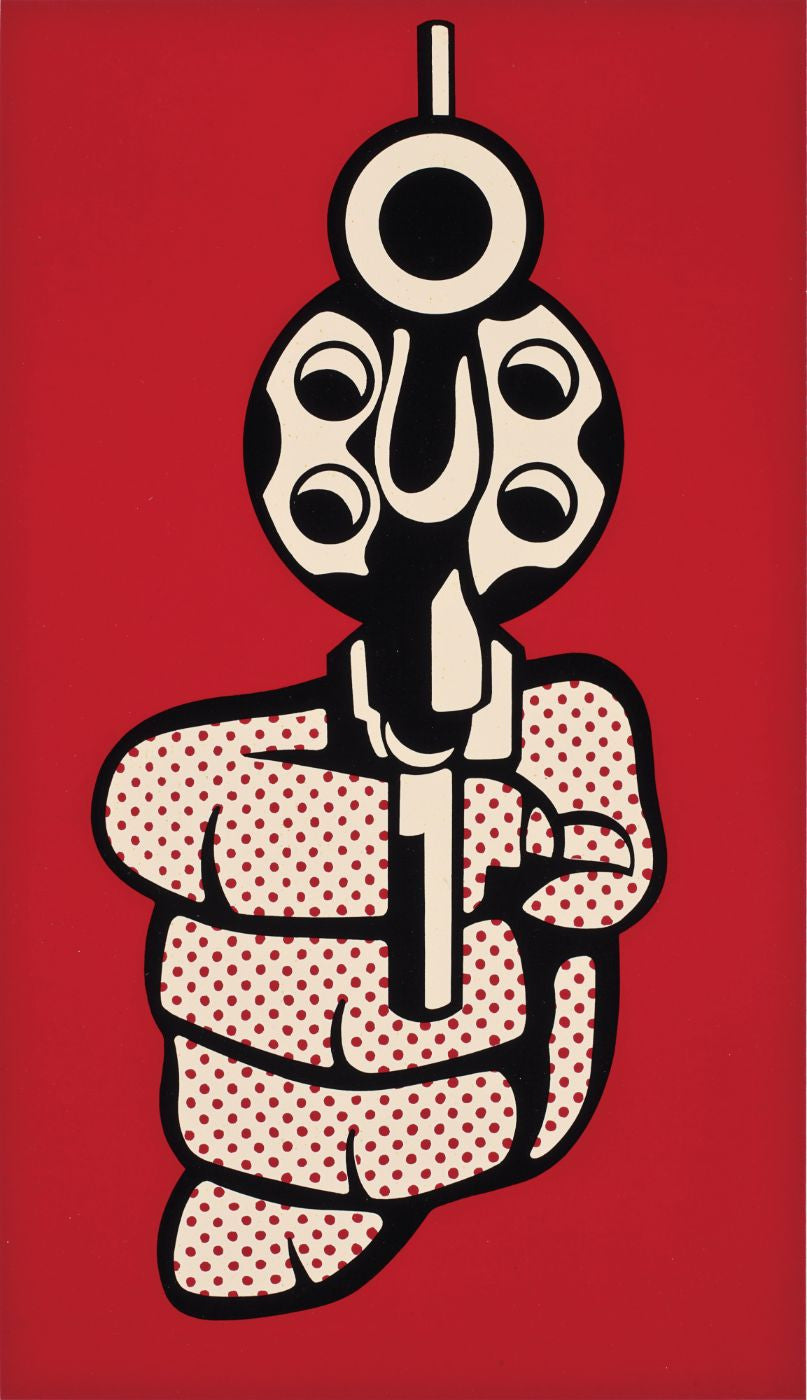 Pistol - Posters by Roy Lichtenstein | Buy Posters, Frames, Canvas ...