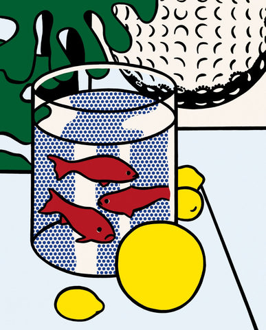 Still Life With Goldfish