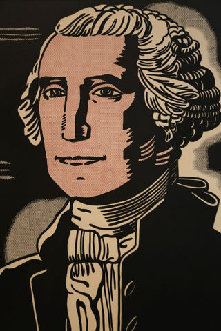 Roy Lichtenstein - George Washington