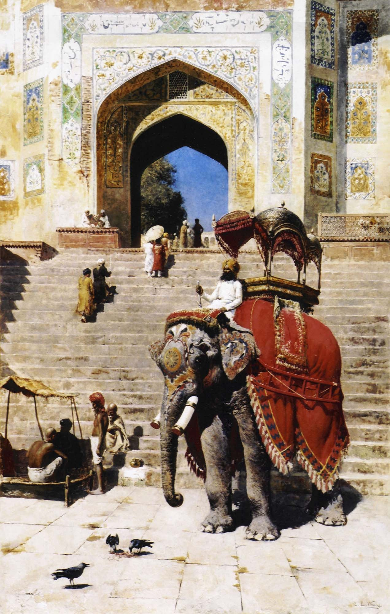 Edwin Lord Weeks Paintings | Buy Posters, Frames, Canvas, Digital Art & Large Size Prints Of The Famous Modern Master's Artworks
