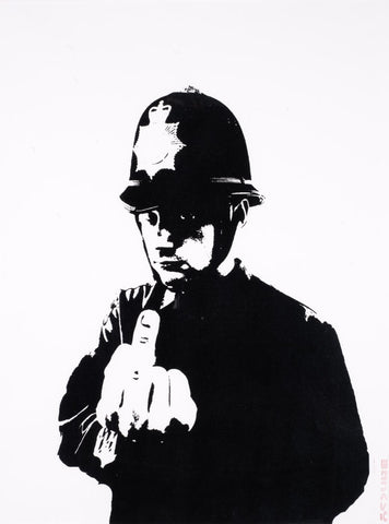 Rude Copper - Banksy